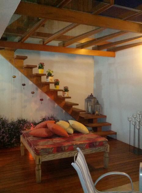 vasos escada