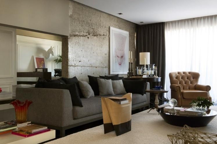 decoracao de interiores paredes pintadas:Com o amarelo os ambientes ficam mais aconchegantes.